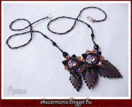 Orosz leveles nyaklánc