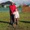Ackermann apuka nagylányával ültette el a kicsi Léna fáját
