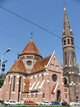 Budai református templom