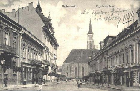 egyetem utca