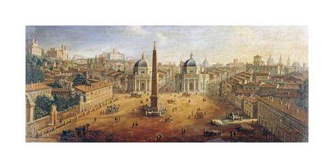 Gaspar Van Wittel - Piazza Del Popolo, Rome