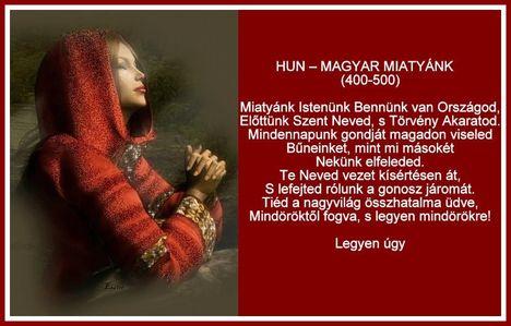 Hun-Magyar ima