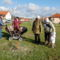 Hushegyi család: Sára a nagylány és ikertestvérei