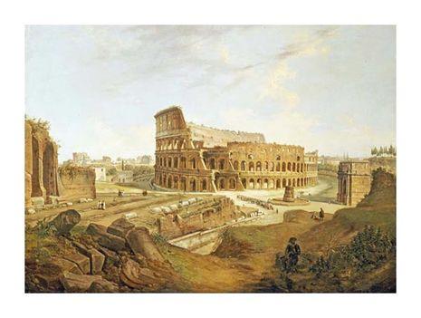 Jean Victor Louis Faure - The Colisseum, Rome