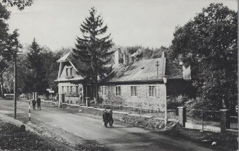 Mátraháza, a régi Postás üdülő