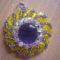 sárga-lila medál