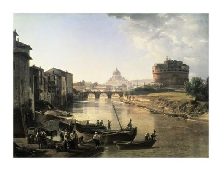 Silvestre Chedrin - Rome, Castel San Angelo