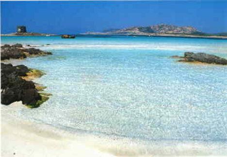 Szardínia gyönyörű partja