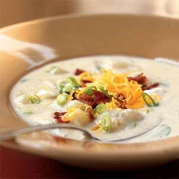 tejszínes leves