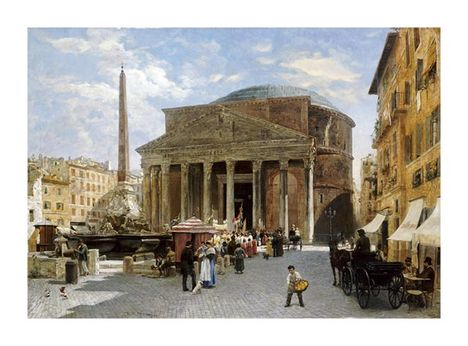 Veronika Mario Herwegen-Manini, The Pantheon, Rome
