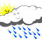 Esős napok jönnek.
