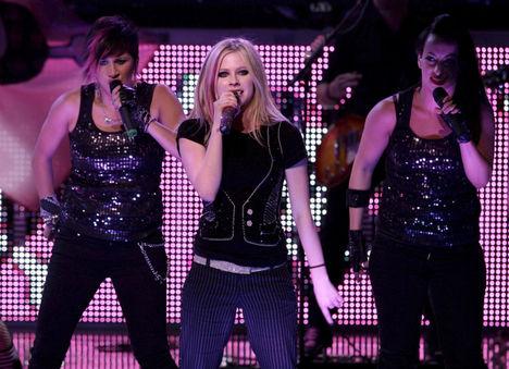 Avril a koncerten!