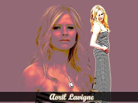 Avril Lavigne háttérképe
