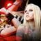 Avril Lavigne montázs háttér