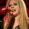 Avril színpadon