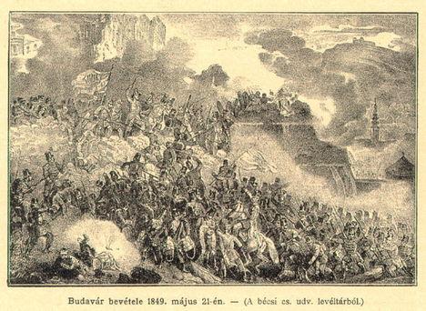 budavár bevétele 1849. május 21-én