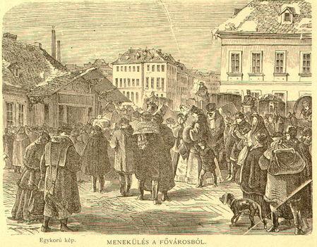menekülés a fővárosból