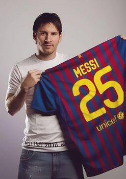 Messi 25 .