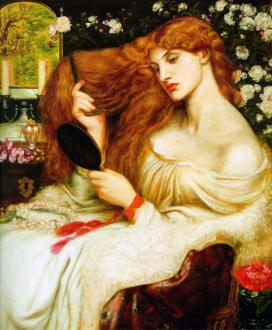 VIKTORIAN Dante_Gabriel_Rossetti_Lady_Lilith_1