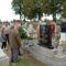 Bendes József és Kiss Margit sírjának megkoszorúzása.