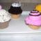 Horgolt muffinok