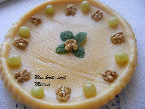 Birs körte sajt
