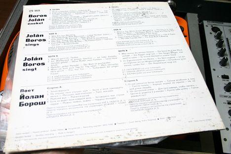 Boros Jolán-lemezboritó hátoldal