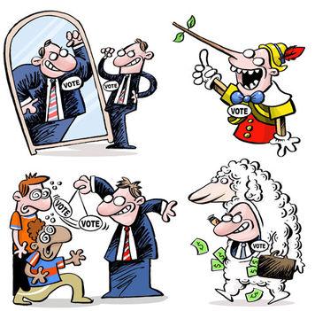 politico oveja