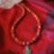 KORALL nyaklánc stilizált kereszttel