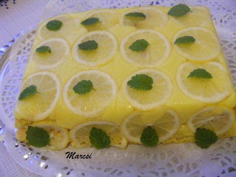 Egyszerű citromos torta