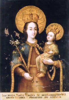 Kegykép-Mária, az Angyalok Királynéja-Ercsi