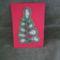 horgolt zsinoros karácsonyi üdvözlőlap