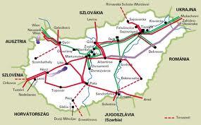 Távvezetékeink hálózata
