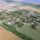A falu légifelvételről