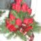 koszorú,virágtál