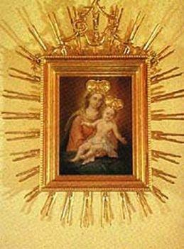 Mária kegykép-Baja