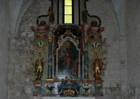 Mária mennybevitele-Oltár- Bélapátfalva