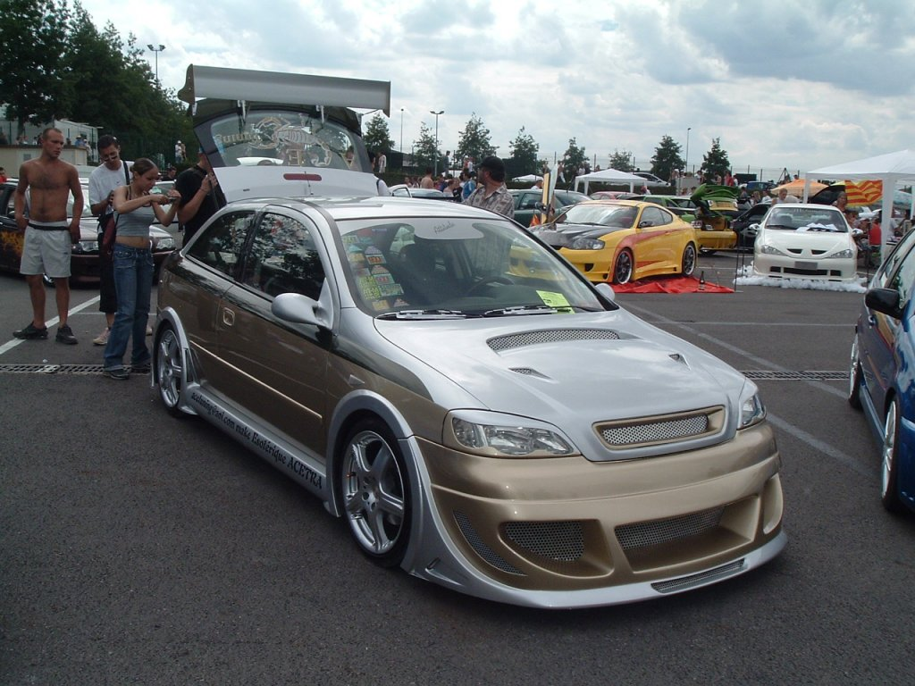 tuning cars and news opel astra g tuning