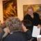 2012. nov. 11. Szathmáry Olga Ottília a Battsányi-Cserhát Művész Kör díjátadásán készült fotó