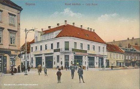 Royal kávéház-Sopron.