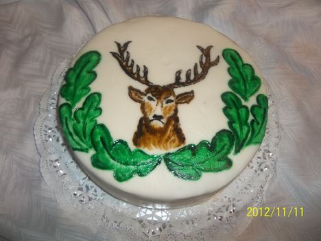 Festett szarvasos torta