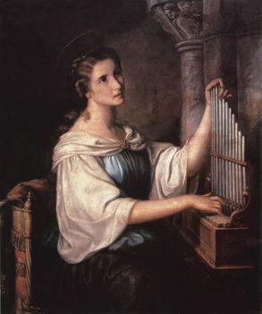 szent Cecilia
