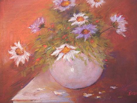 Öszi virágok-pasztell