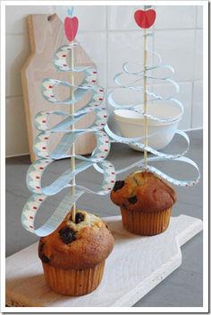 muffin dísz