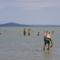 Balatonederics strand, egy hűvös nyári napon