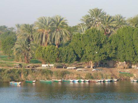 Egyiptom Nílus partján