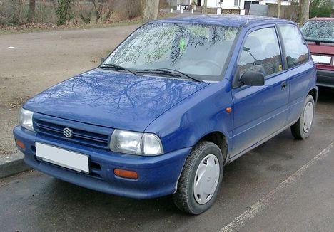 Európai Suzuki Alto (Cervo)