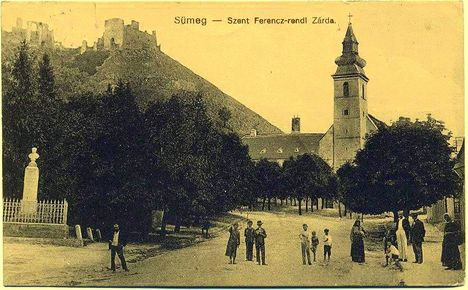 régi fotó Sümegről