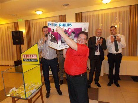 Év első díja Marosvásárhely-Selgros 2012