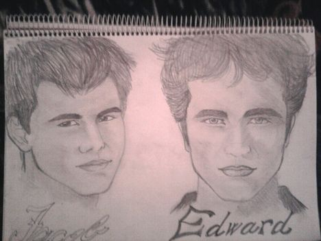 Twilight-Jacob+Edward